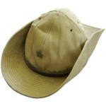 Sombrero khaki ruso Panamá con la insignia de la estrella