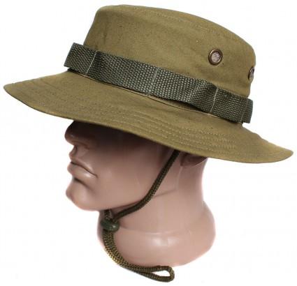 パナマ・ゴルカ・ブーニー・ハット・リップ・ストップロシア軍帽子カーキ
