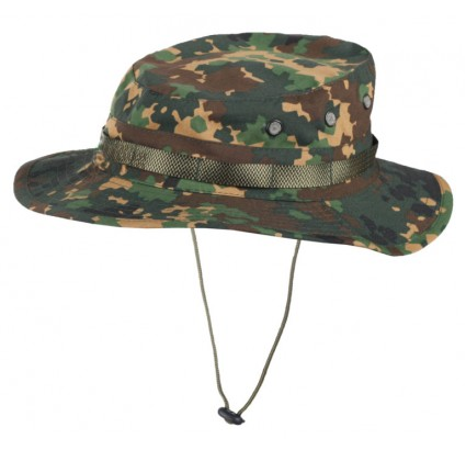 Camouflage Panama boonie hat IZLOM rip-stop Russian cap