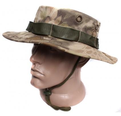Python roccia di copertura montagna estate cappello camo boonie Panama