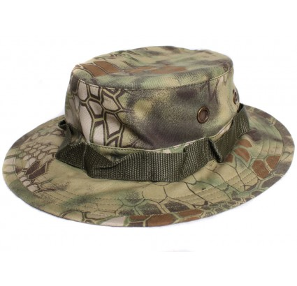 Lager Python Wald camo Panama boonie Hutsommer