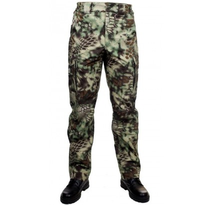 Camo tactical trousers PYTHON FOREST military pants