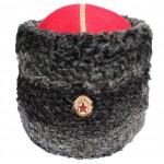 L'armée russe PAPAHA chapeau astrakan pour l'URSS généraux
