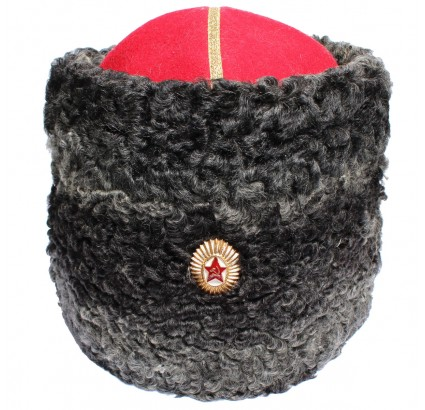 Russian Army Astrakhan Hat PAPAKHA for USSR Generals