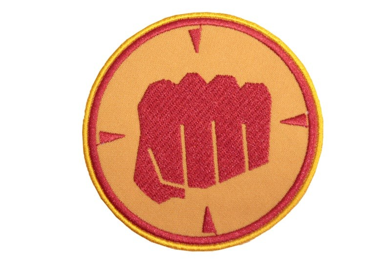 Team Fortress 2 Red The Heavy Embroidered Patch