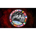 International Space Station Artificial Satellite ISS Program Embroidered patch