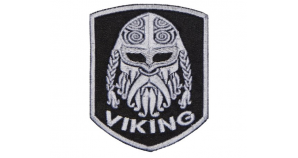 Viking Norse Mythology Embroidered Patch #6