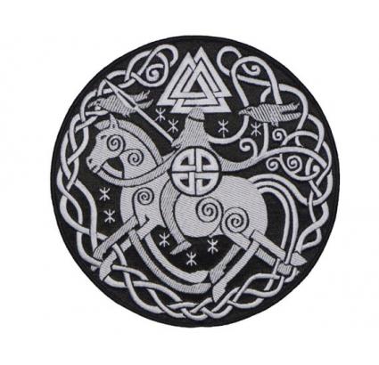 Odin Major God in der germanischen Mythologie und im nordischen Mythologie Patch Nr. 2