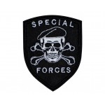 Special Forces Skull In a Beret Military Game Airsoft Patch