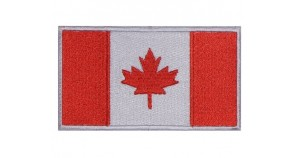 Canada Flag Embroidered Patch #2