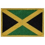 Patch brodé drapeau Jamaïque