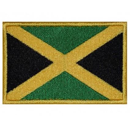 Parche Bordado bandera de Jamaica