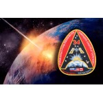 Expedition 34 Mission Embroidered Sew-on Uniform Space ISS Spaceship Patch