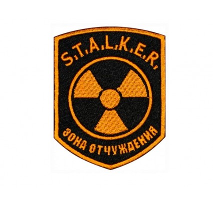 Exclusion Zone STALKER sleeve patch 106
