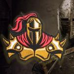 Toppa ricamata da cucire per computer Assassin's Creed Templar 2