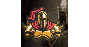 Computer Game Assassin's Creed Templar Sew-on Embroidered Patch 2