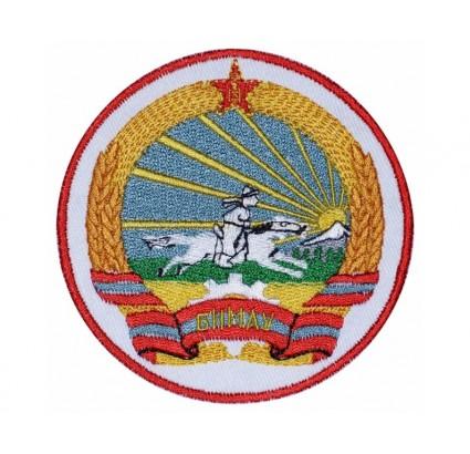 Patch brodé de la crête de la Mongolie