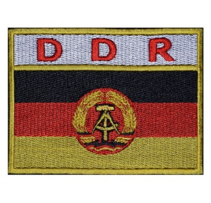DDR FLAG SPACE Flights Uniform Sleeve Embroidery Patch