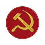 Der Hammer und die Sichel des UdSSR-Symbols # 4