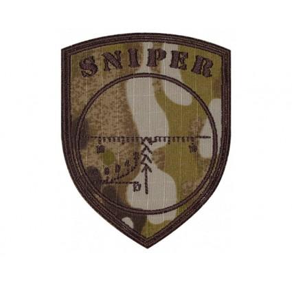 Fucile da cecchino SVD Sight Embroidered Patch camo