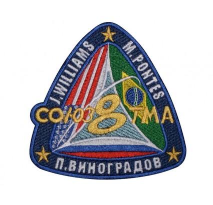 Patch n. 1 della manica del programma spaziale russo Soyuz TMA-8