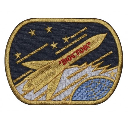 Vostok-1 Soviet Space Program Patch BOCTOK