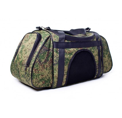 Carry bag for dogs / cats in Russian digital camo pet carrier