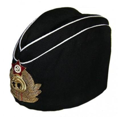 Soviétique / russe naval chapeau Amiral Pilotka calot