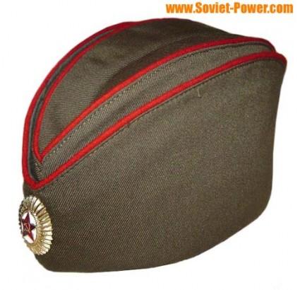 Sowjetischen / russischen Offiziere Militär Hut Pilotka