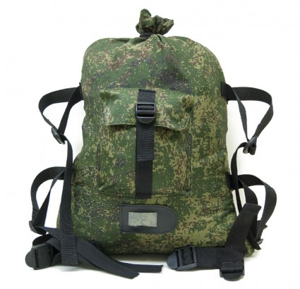 Russian Digital pixel soldiers camouflage army backpack