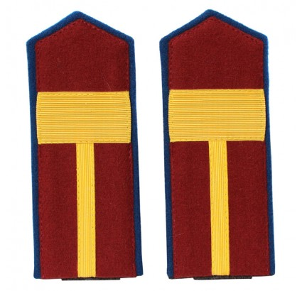 NKVD Russian Sergeant Major shoulder boards