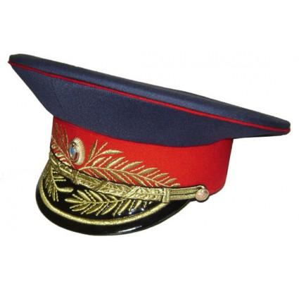 Soviétique générale de la police militaire de l armée visière chapeau
