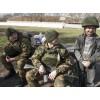 Russisch Spetsnaz Winter Camouflage Strickmütze