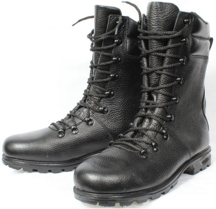 New Russian Army leather boots (latest type)