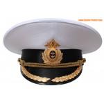 Russische Marine Flotte Kapitän Parade Schirmmütze
