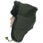 Federazione Russa guardie di frontiera pecore cappello di pelliccia Ushanka