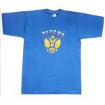 T-shirt à manches brodées RUSSIE - Russian