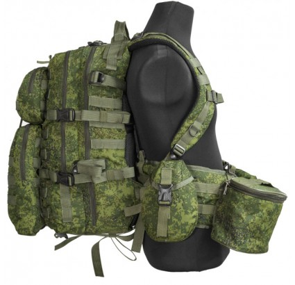 "Russian modern LBV ""TACTIC"" tactical camo assault MOLLE vest"