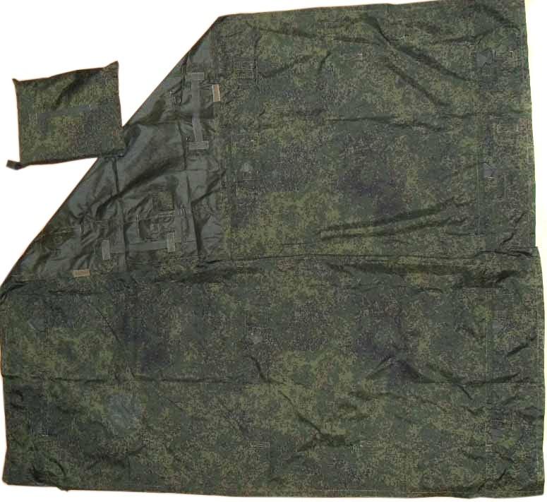 Ratnik Universel Shelter Tente 6sh120 Groundsheet Digital Flore