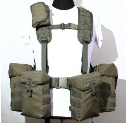 Russe tactique charge Ammo portant gilet Smersh PKM