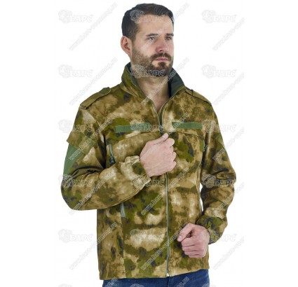 Russian demi-season A-TACS camo Softshell jacket