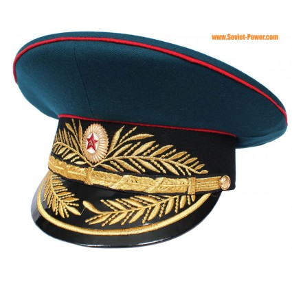 Soviet military / Russian Artillery General visor hat
