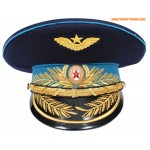 Rusia / Fuerza Aérea Soviética Generales tapa visera azul