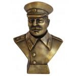 Busto di bronzo russo Joseph Stalin comunista sovietico