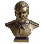 Russian Bronze Soviet bust of Stalin