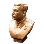 Bust of the Soviet leader Stalin