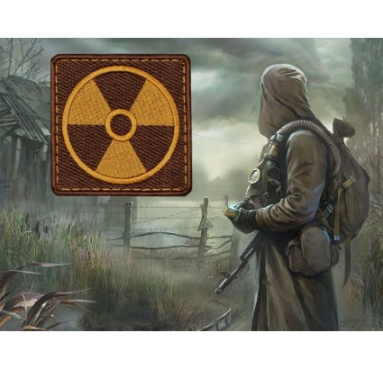 S.T.A.L.K.E.R. Neutrals Atomic Power embroidery patch 114