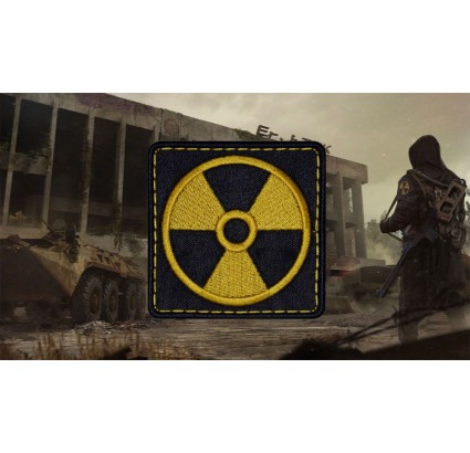 S.T.A.L.K.E.R Airsoft Game Einzelgänger Gruppierung Patch # 1