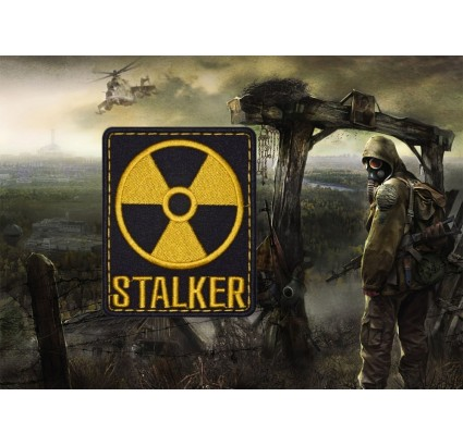 Stalker Game Radiation Sleeve Patch #1