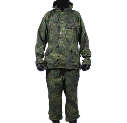 Russian Digital camo suit SUMRAK hooded uniform BDU